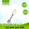 Professional LED lamps for line voltage 85-265v/ac 2w e27 led filament lamps