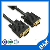 Hign premium gold plated 1.8m male to male VGA Cable