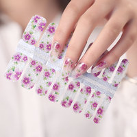 2020 New Arrival 3D Elegant Foil Diamond Nail Art Polish Stickers for Beauty