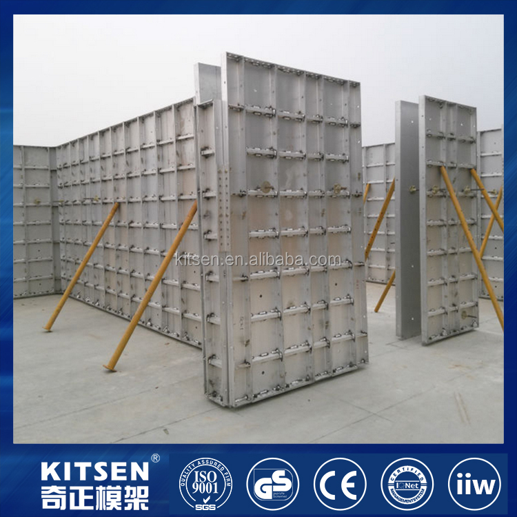 Wedge and Pin Handset Panel System / Aluminum Concrete Form