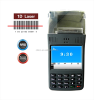 bus ticket pos printer with gprs ,1d barcode scanner,gps