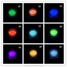 Luminous Nail Glitter Powder Glow in the Dark Glow Powder Luminous Pigment Fluorescent Powder for Nail Art Decoration