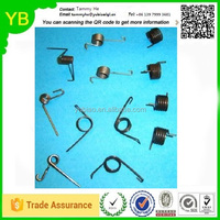 stainless steel torsion spring hinge clip for led downlight