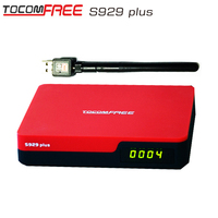 Tocomfree s929 plus Original azamerica s1005 satfinder hd twin tuner iks and sks receiver azamerica s1008 decodificador hd iptv