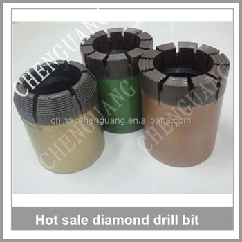 Thick drill bit of Impregnated, surface set Diamond drill bit, Engineer drill bit