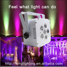 Guangzhou edison professional dj equipment 6x15w uv wedding led stage lighting