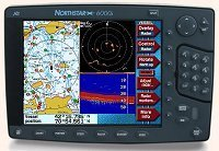 "Northstar 6000i 10.4"" Color WAAS GPS Chart Plotter"