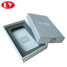 Rigid mobile phone & cellphone case box packaging with lid printing