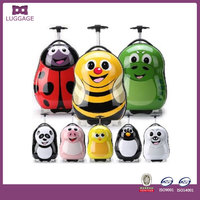 Kids' lovely abschildren cartoon luggage plastic cover luggage
