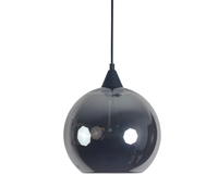Jeremy Pyles Hand Blown Solitaire Glass pendant lamp