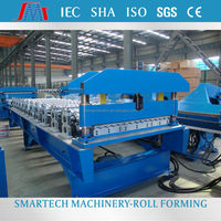 Customized Galvanized sheet roofing tile machine / galvalume steel easy operead Innovative making line