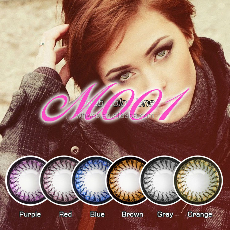 Beauty magic eye cosmo contact lens for wholesale contacts