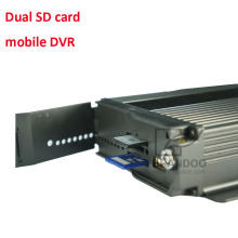 Double 128gb SD card mobile car digital video recorder DVR