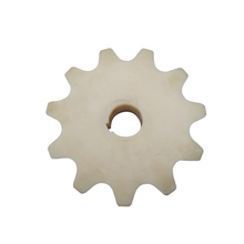 Big size interlocking uhmw-pe plastic gear cogs