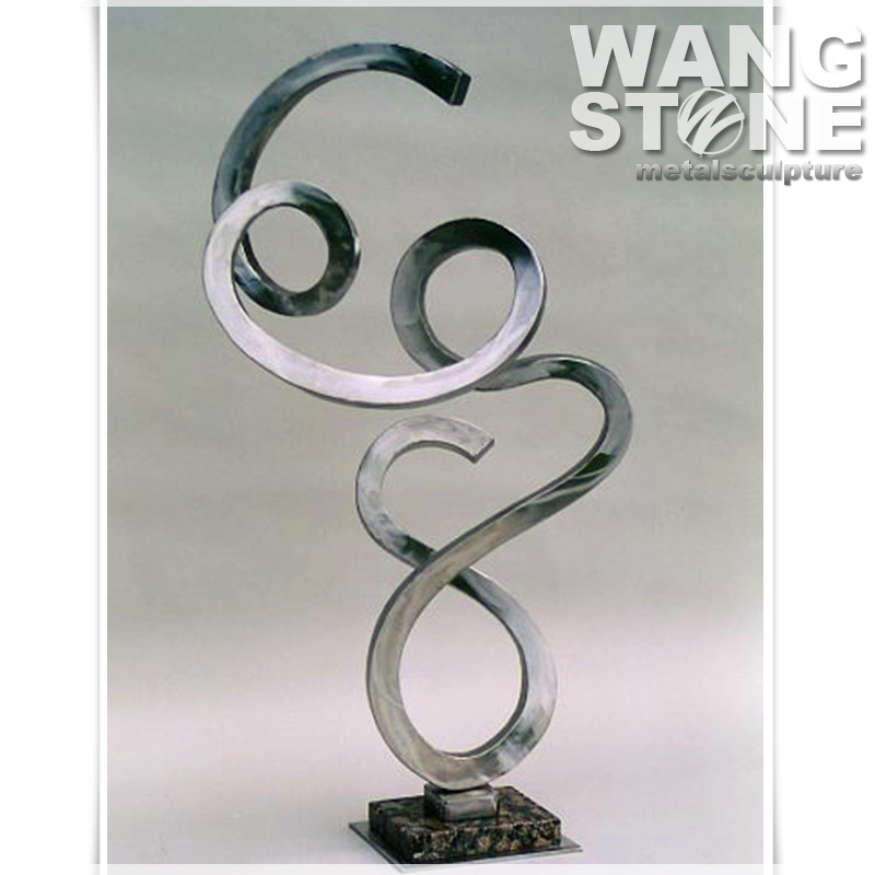 Metal Art Stainless Steel Home Decorative Sculpture