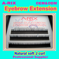 3d eye brows extension hand made false eyebrows 1110
