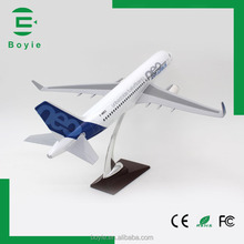 High replica 1:100 large scale 37CM-320 Airbus neo airbus model airplanes die cast with wooden base