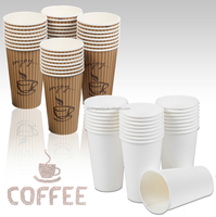Disposable Party Hot Cold Coffee Tea Paper Cups