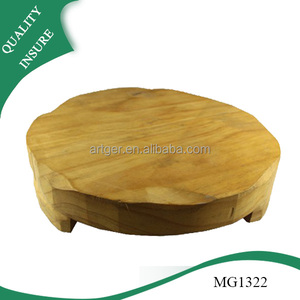 high quality butcher block cutting board round chopping board wood