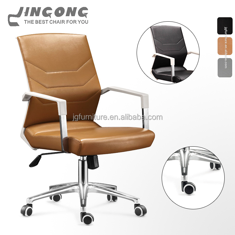 2017 new arrivals chair for visitors custom-made brown executive chair for conference