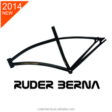 Ruder Berna Eightper Taiwan Made 700C Gamma Bicycle Black frame fixed gear