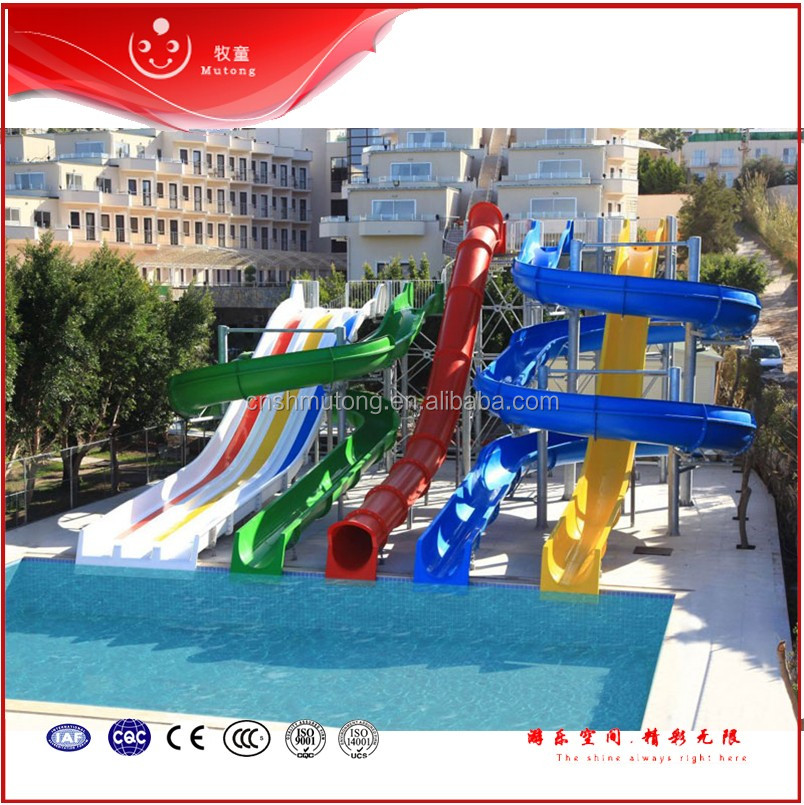 Quality Residential Adult Swimming Pool Water Slides For