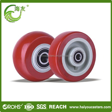 pu wheel , good hardness inline skate wheel 100mm