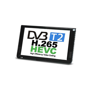 10 DVB-T2 MPEG4 H265 HEVC H264 Portable TV PVR Multimedia Player Digital Analog kitchen bedroom cara