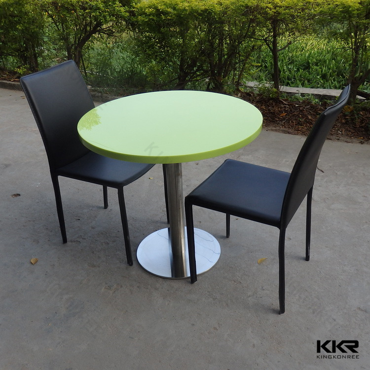 Blanc ronde 4 personnes surface solide table pas cher for Table ronde 4 personnes