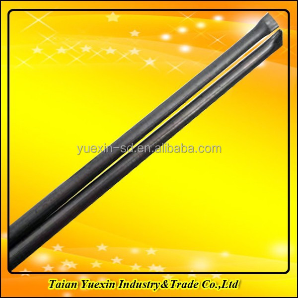 Pipe-up cast tungsten carbide welding rods