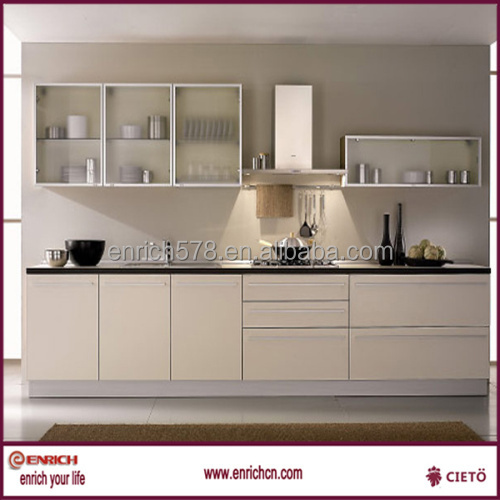 Small kitchen cabinet modern fashion lacquer kitchen cabinet for hotel