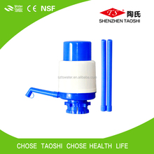 Factory price high quality plastic manual water hand pump small and large hand pump for bottled water