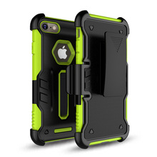 china manufacture cheap price rugged holster belt clip case for iphone 7S