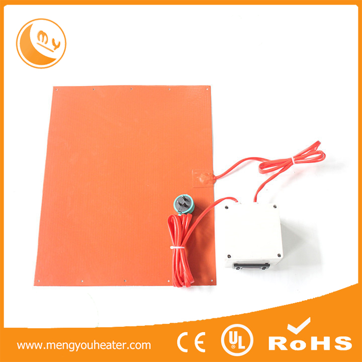 silicone band heating element for printing machine, printer heater