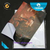 Strong sticky photo paper glossy and matte type for promotion