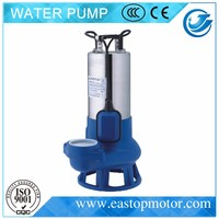 WQDR sewage suction pump for flood control with Single Phase