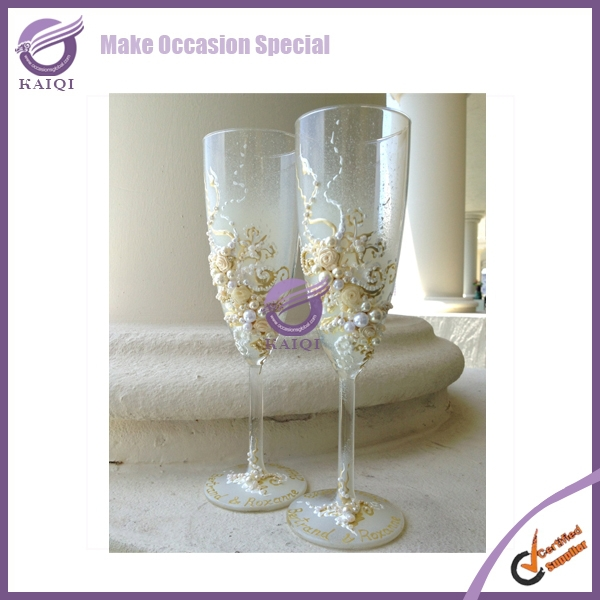 k6621 wholesale elegance champagne glass/high quality champagne flute