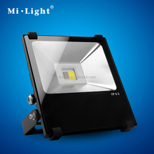 Milight high quality 2.4G RF wireless remote&app controlled outdoor lighting LED wall washer RGBW flood light