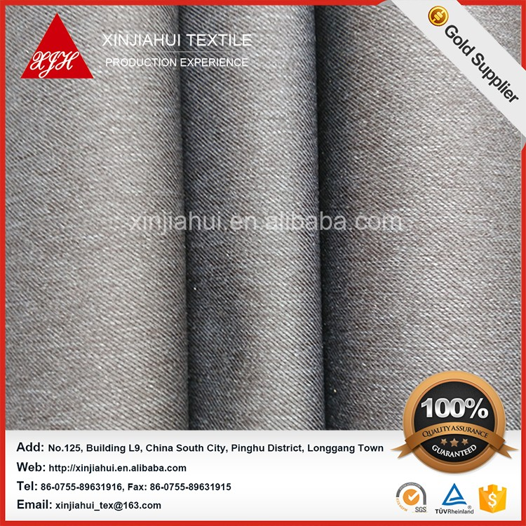 Gold Supplier China Polyester Twill Wool Fabric and Polyester Twill Lining Fabric