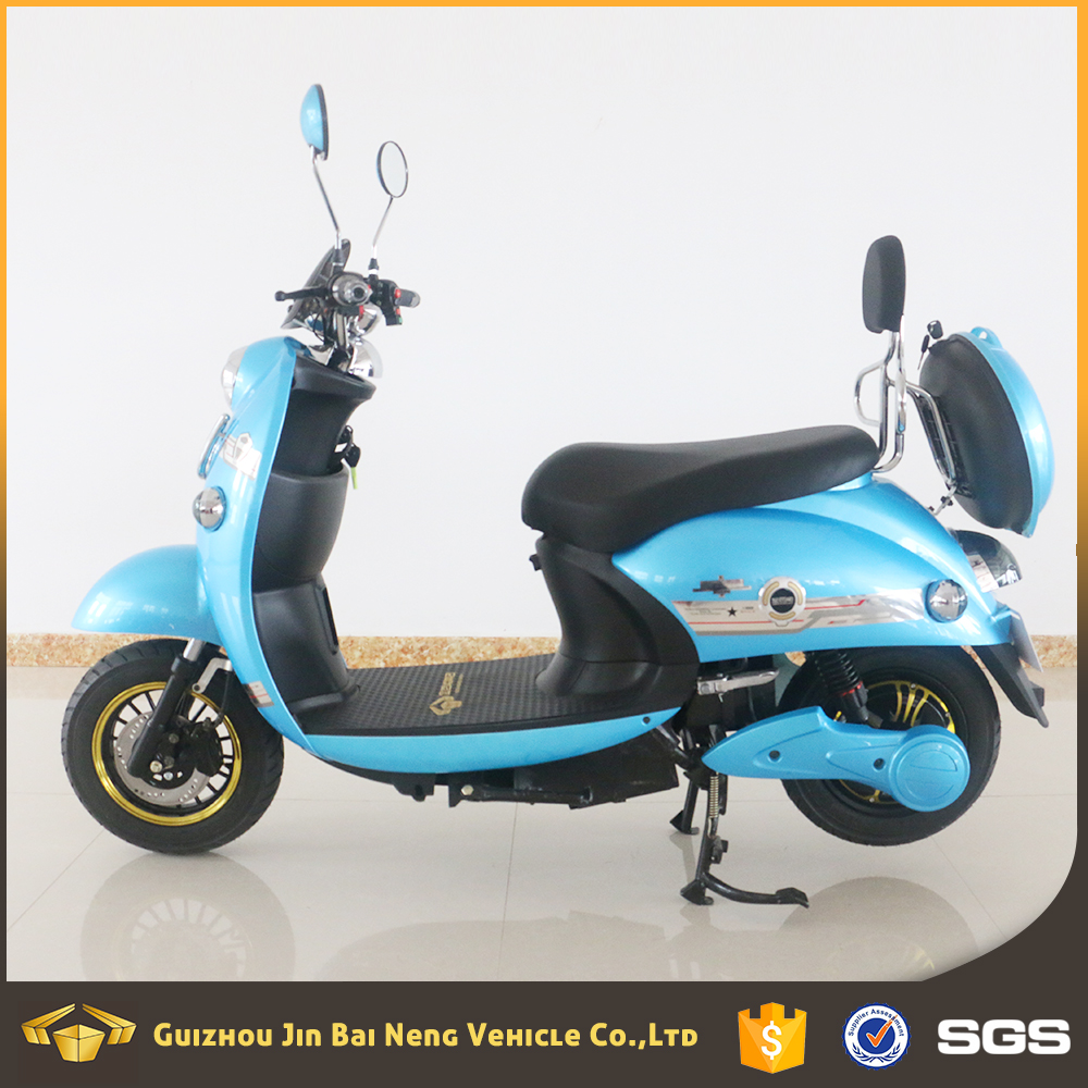 2017 cheap adult 800w electric motorcycle with storage battery