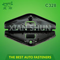 Automotive window clip auto fastener