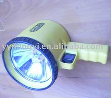 Rechargeable Spotlight 6V 2AH candle power spotlight