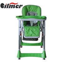EN14988,EN71-1,-3 safety eco child dining high chair