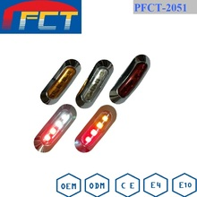 Truck/Trailer 10-30V Red LED Clearance / Side Marker Light