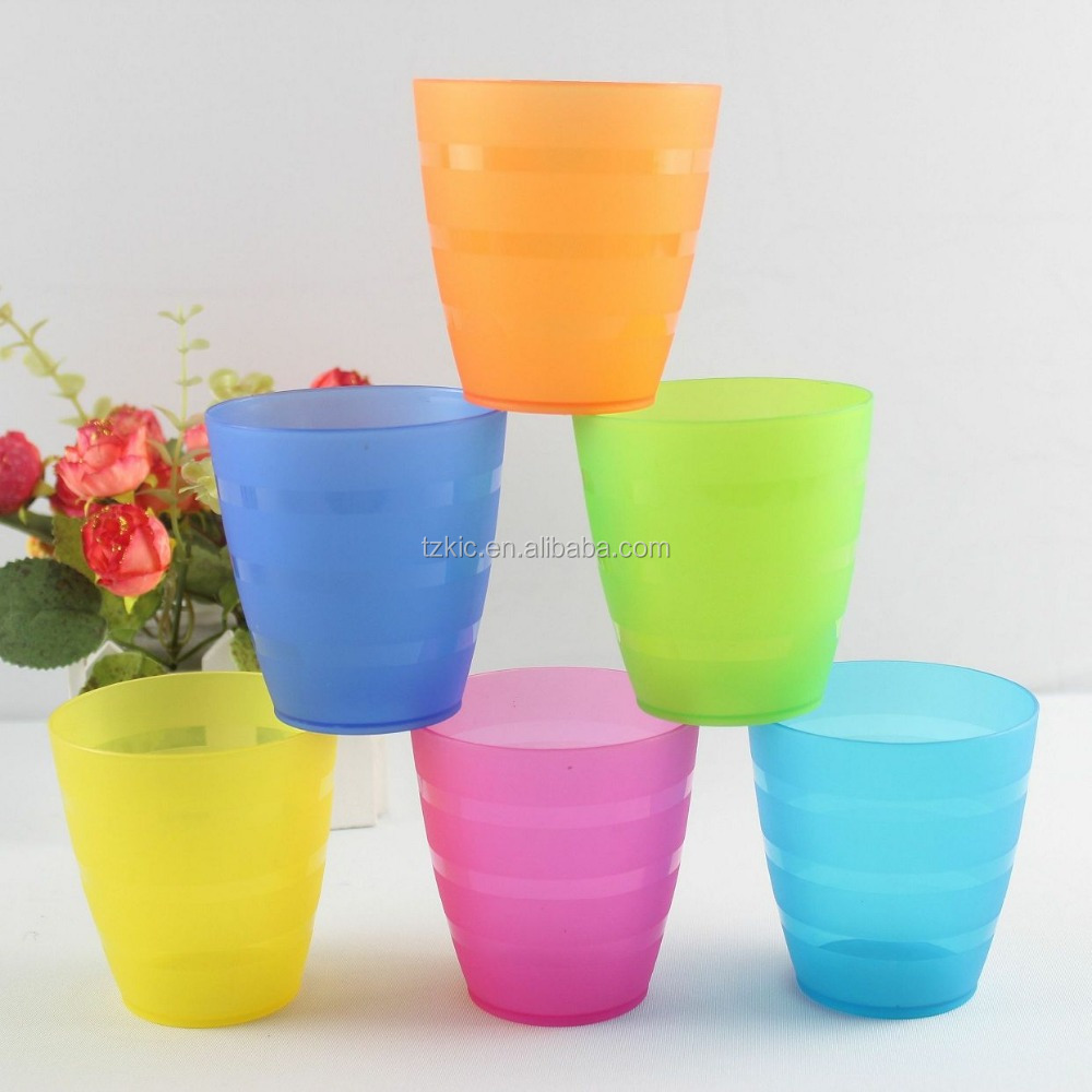 kids use bathroom plastic tumbler water cup