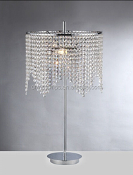 Luxury lamps home and hotel decoration chandelier crystal table lamp for house/wedding lighting decoration