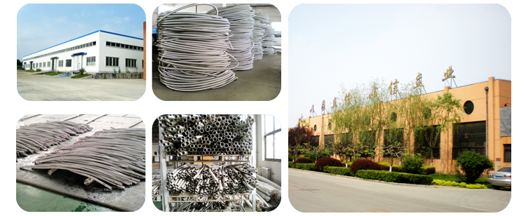 Stainless Steel Corrugated Inner Tube, SS304 Braided Flexible Metal Hose Pipe