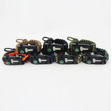 Adjustable Competitive Price Survival teaps/Paracord Belt/Paracord Bracelet for Outdoor