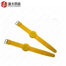 RFID Watch Waterproof Adjustable Silicone MIFARE Ultralight C NFC Wristband
