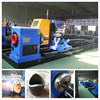 Steel truss industrial metal pipe cnc cutting machine with plasma and flame